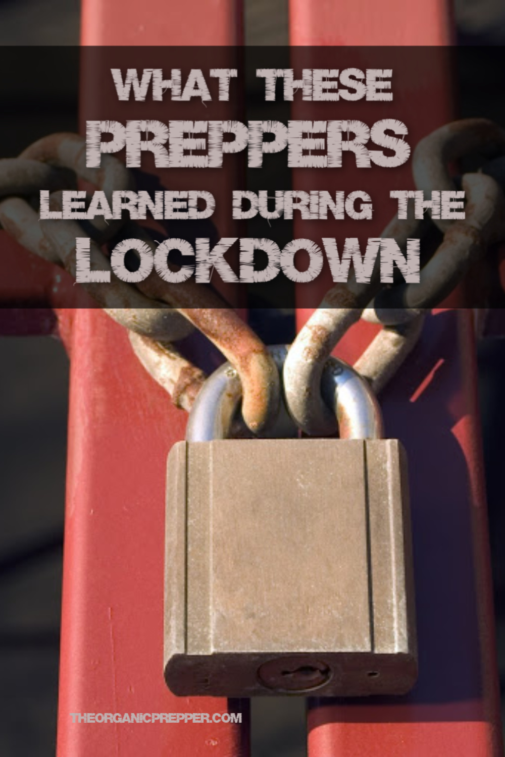Here\'s What 75 Preppers Learned During the Lockdown