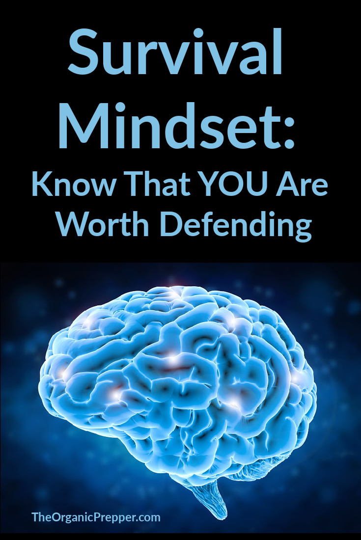 Survival Mindset: Know That YOU Are Worth Defending