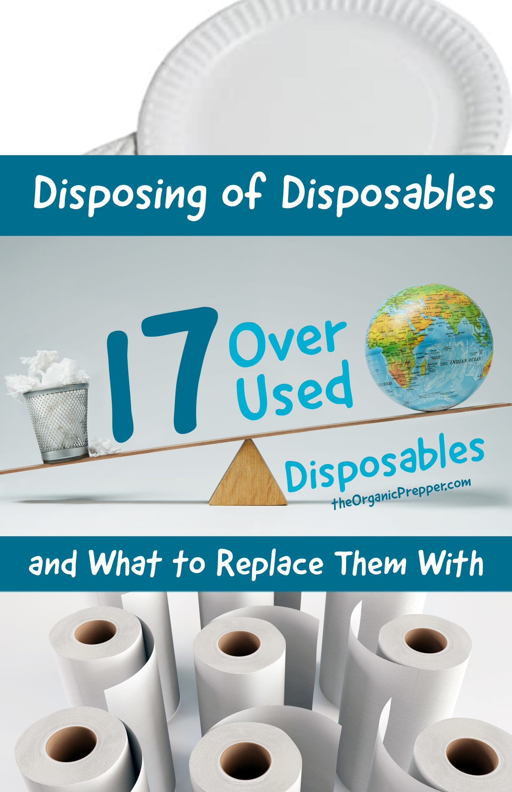 Disposing of Disposables: 17 Overused Disposable Items and What to Replace Them With