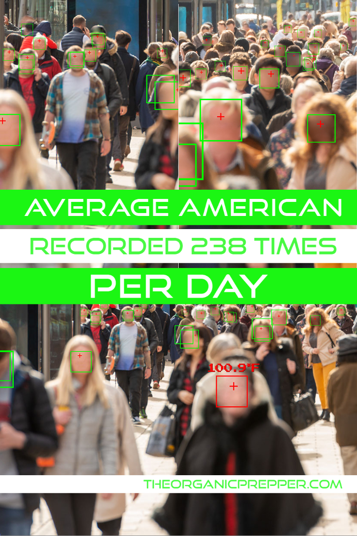 The Average American Is RECORDED 238 Times a Week