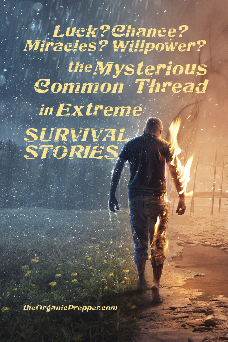 Luck? Chance? Miracles? Willpower? The Mysterious Common Thread in Extreme Survival Stories