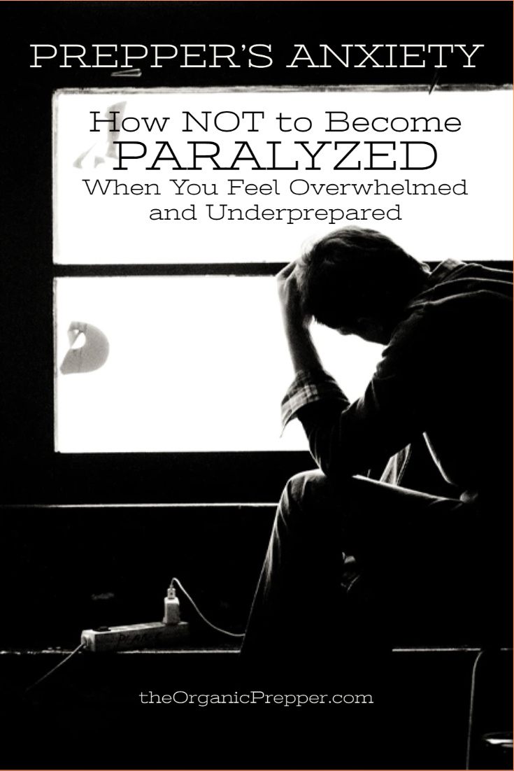 Prepper\'s Anxiety: How NOT to Become Paralyzed When You Feel Overwhelmed and Underprepared