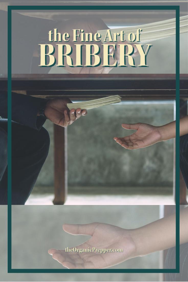The Fine Art of Bribery
