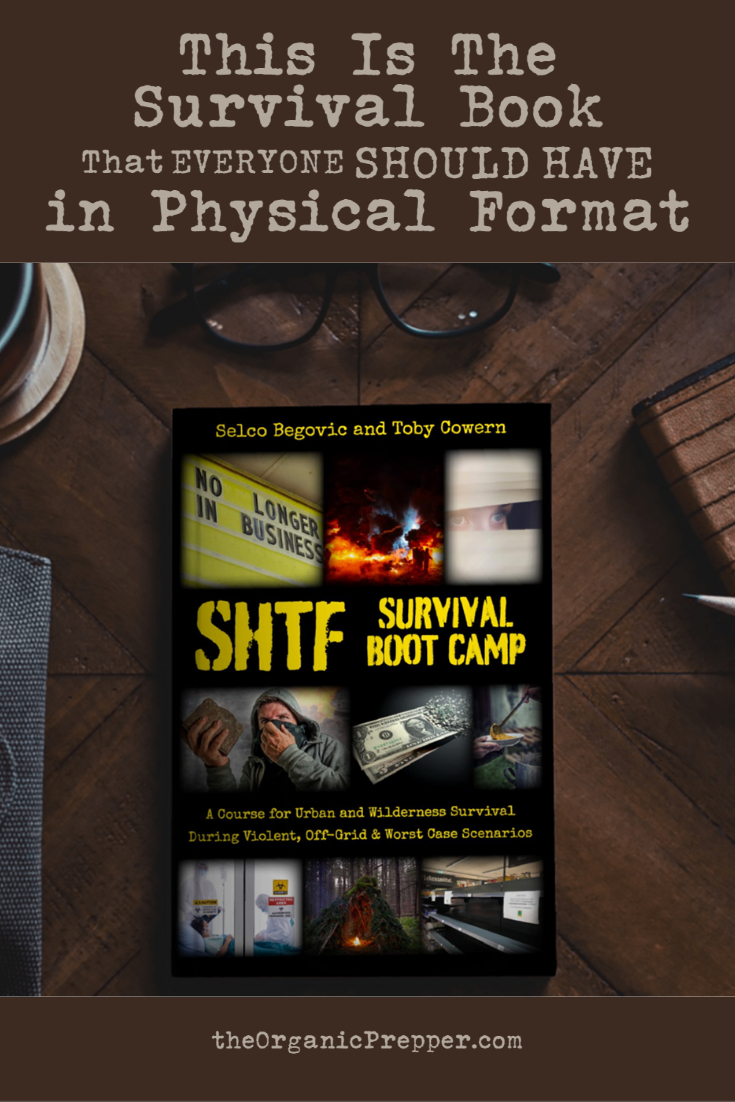 This Is The Survival Book That EVERYONE Should Have in Physical Format