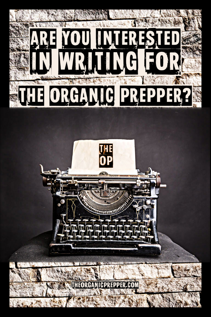 Are You Interested in Writing for The Organic Prepper?
