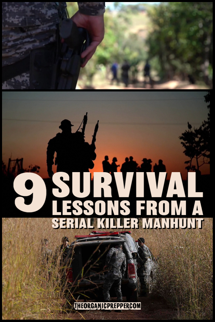 9 SURVIVAL LESSONS From a Serial Killer MANHUNT