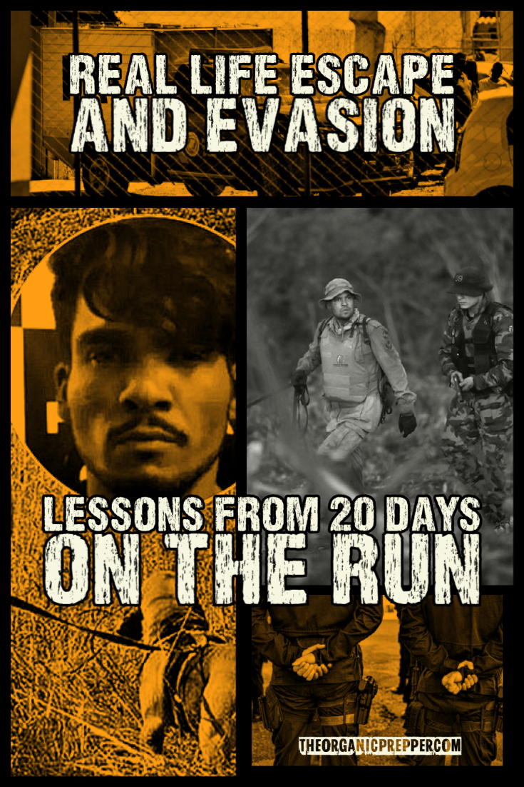 Real Life Escape and Evasion: Lessons from 20 Days on the Run