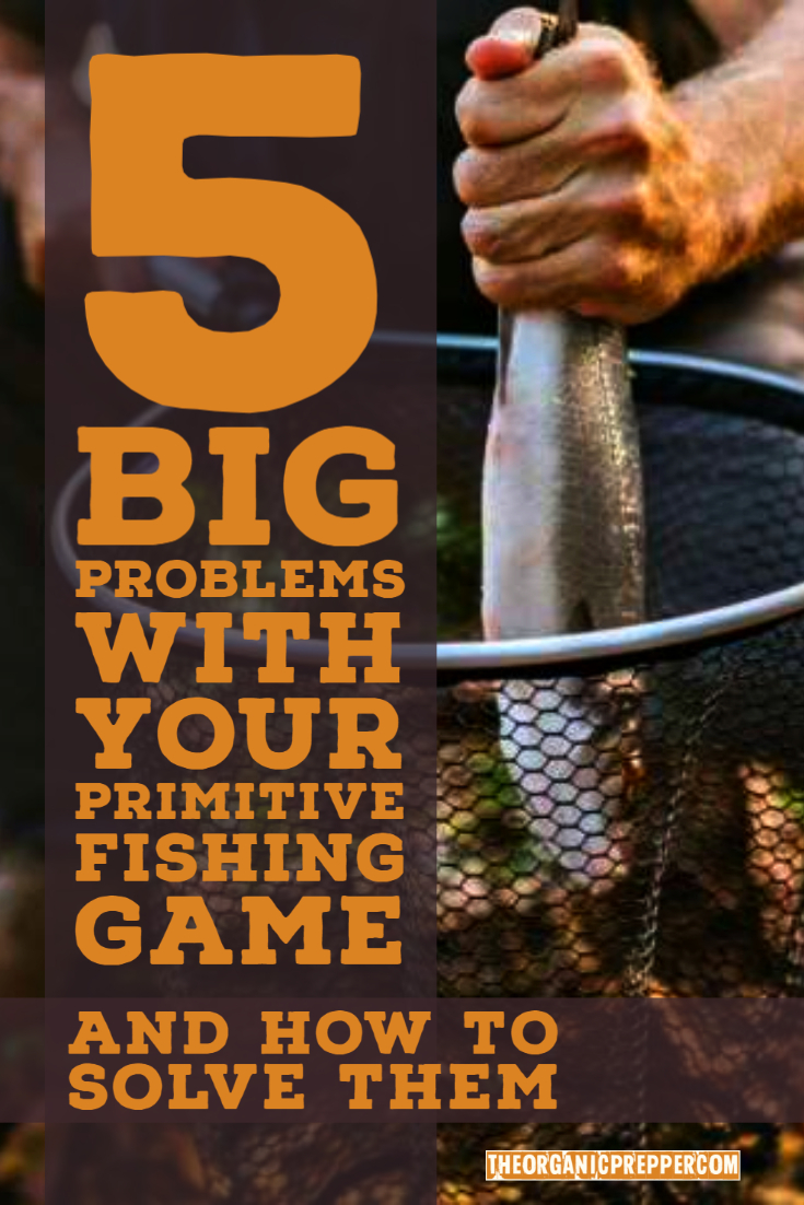 5 Big Problems With Your Primitive Fishing Game and How to Solve Them