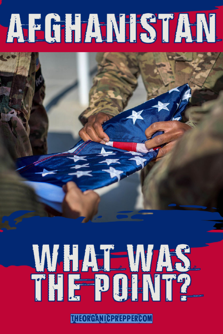Afghanistan: What Was the Point?