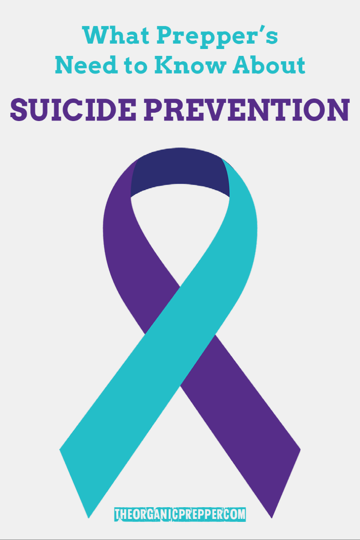 What Preppers Need to Know About Suicide Prevention