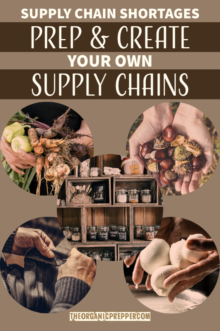 Supply Chain Shortages: How to Prep & CREATE Your Own Supply Chains